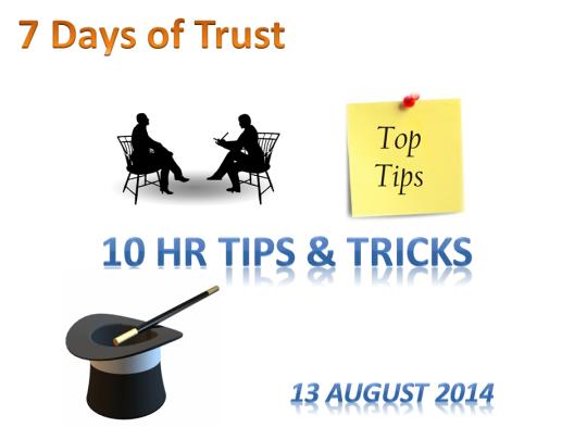 10 tips & tricks