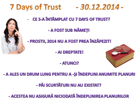7 Days of Trust. Roades