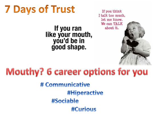 Mouthy. 6 career options for you.pptx