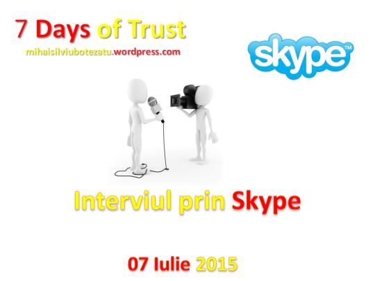 Interviul Prin Skype